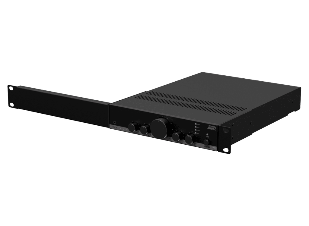 MBS310 - Rack mounting set for half rackspace 1u enclosures