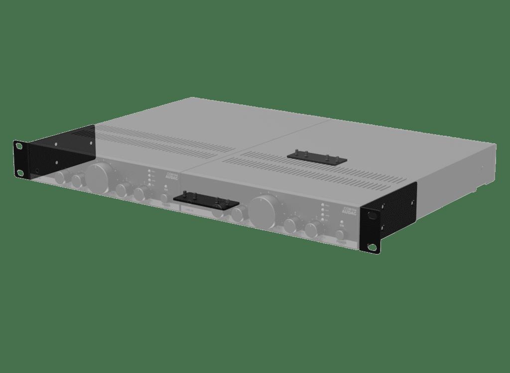 MBS310 - Rack mounting set for half rackspace 1u enclosures