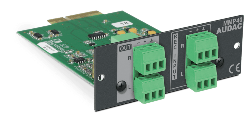 MMP40 - SourceCon™ media player & recorder module
