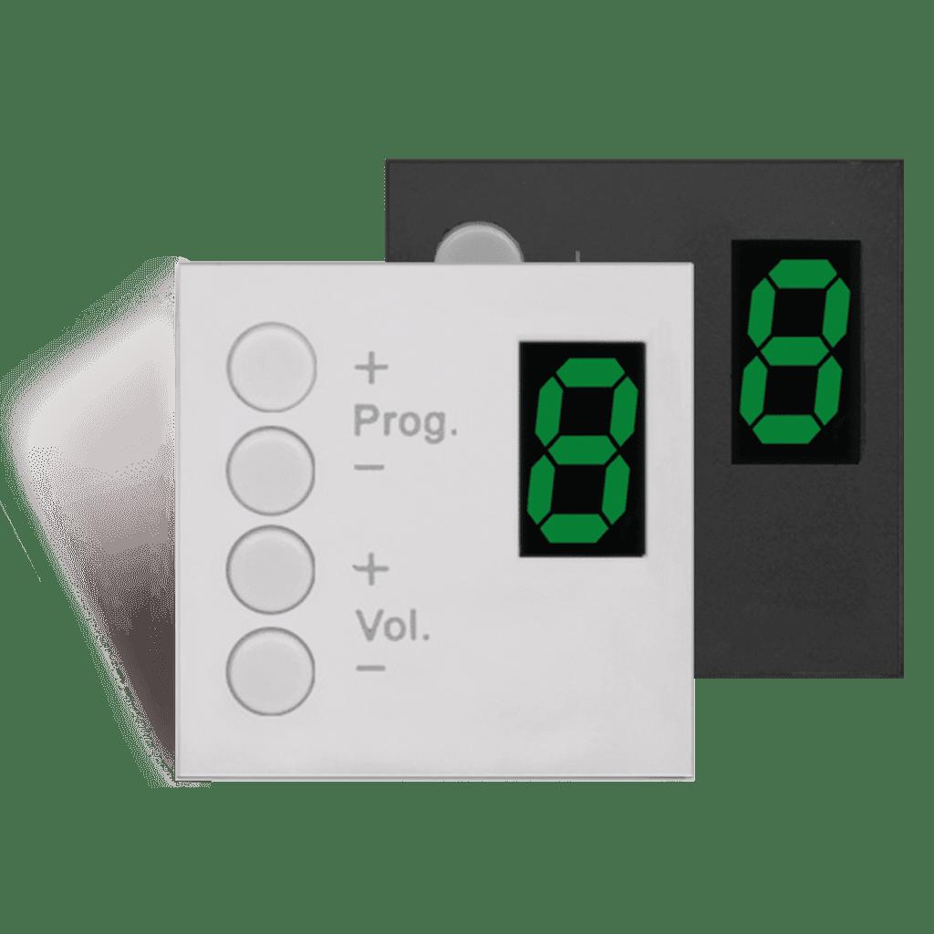 MWX45 - MTX wall panel controller 45 x 45 mm