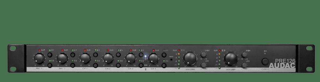 PRE126 - Two zone - 6 Channel stereo preamplifier