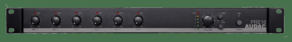 PRE16 - 6-channel stereo preamplifier