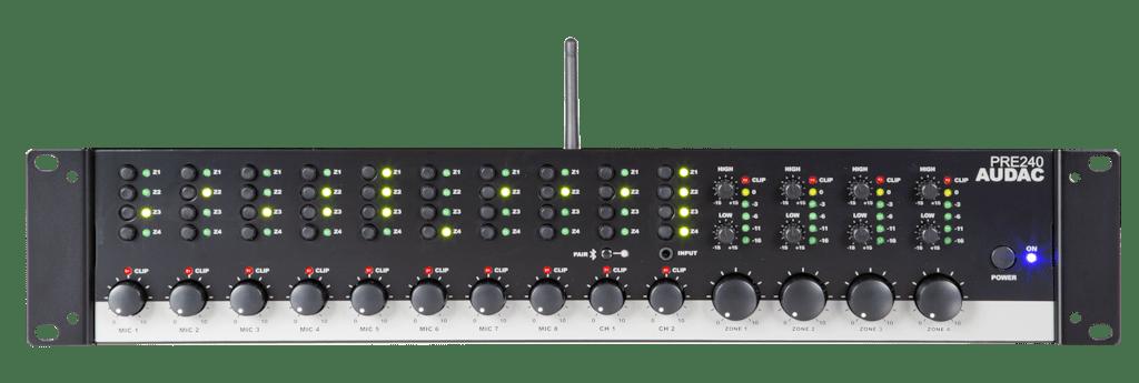 PRE240 - Four zone - 10 Channel stereo preamplifier