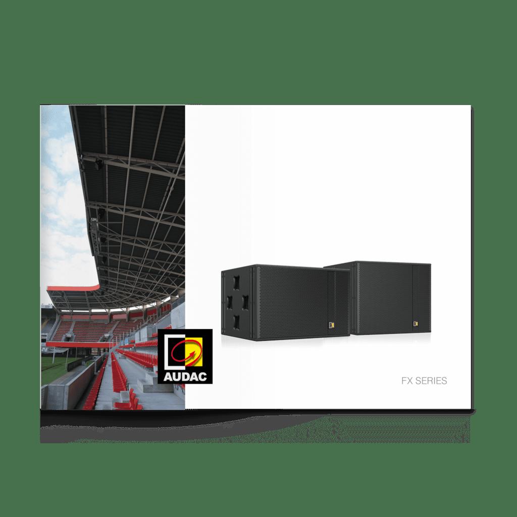 PROMO5029 - AUDAC FX series brochure