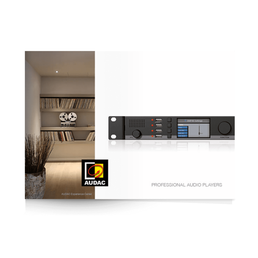PROMO5059 - Audio player brochure