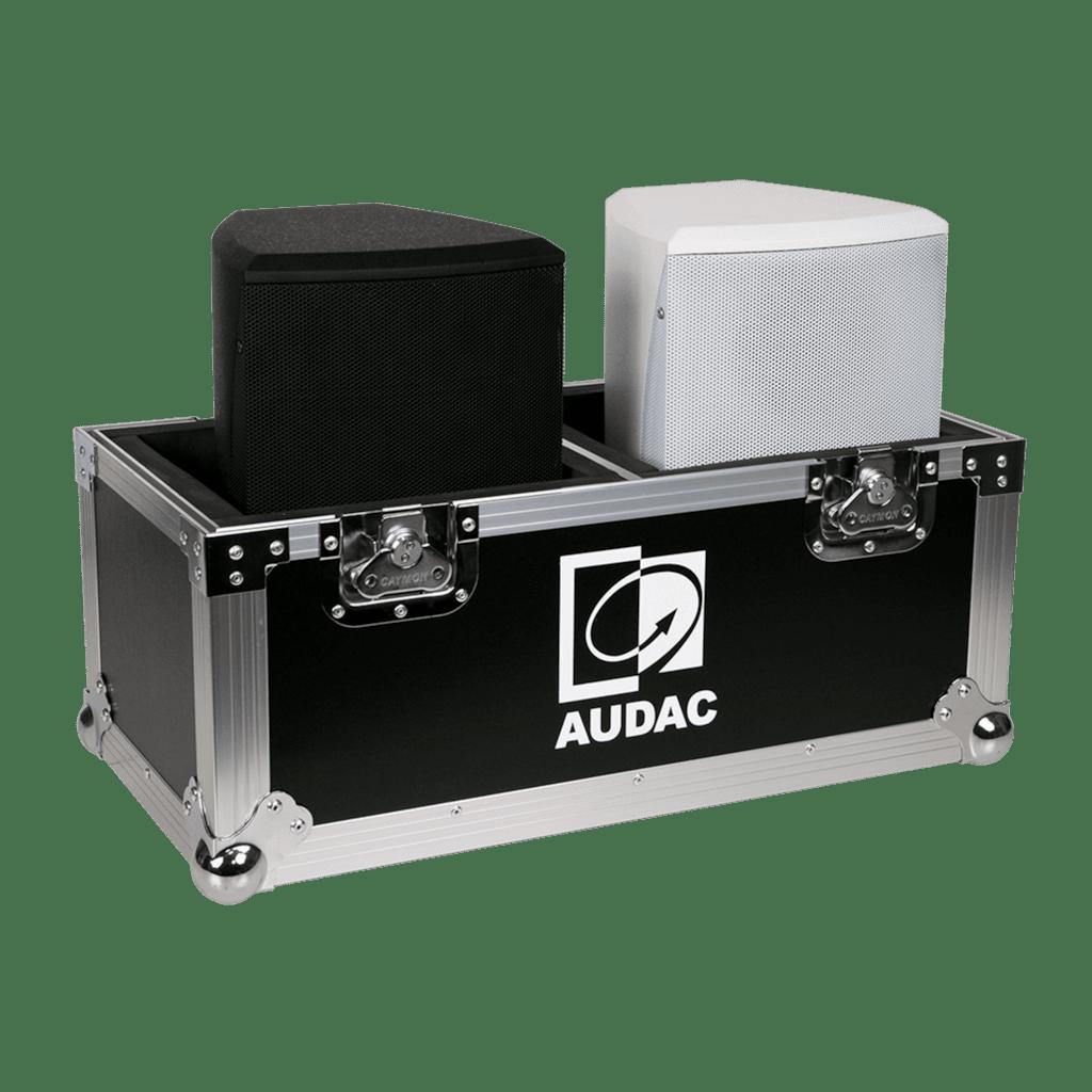 PROMO5106 - Flight case for 2 x XENO6 loudspeaker
