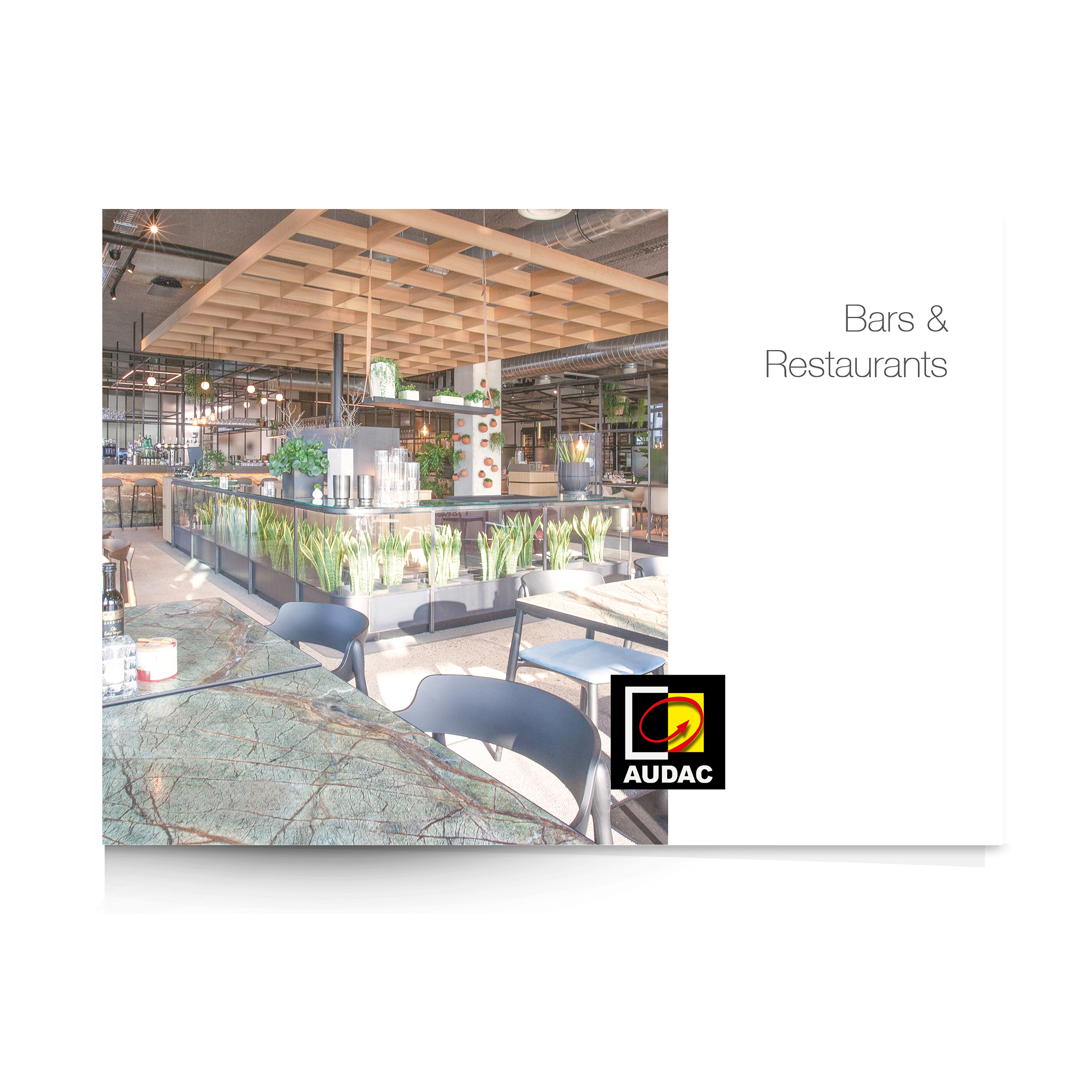 PROMO5211 - AUDAC References - Bars and Restaurants brochure