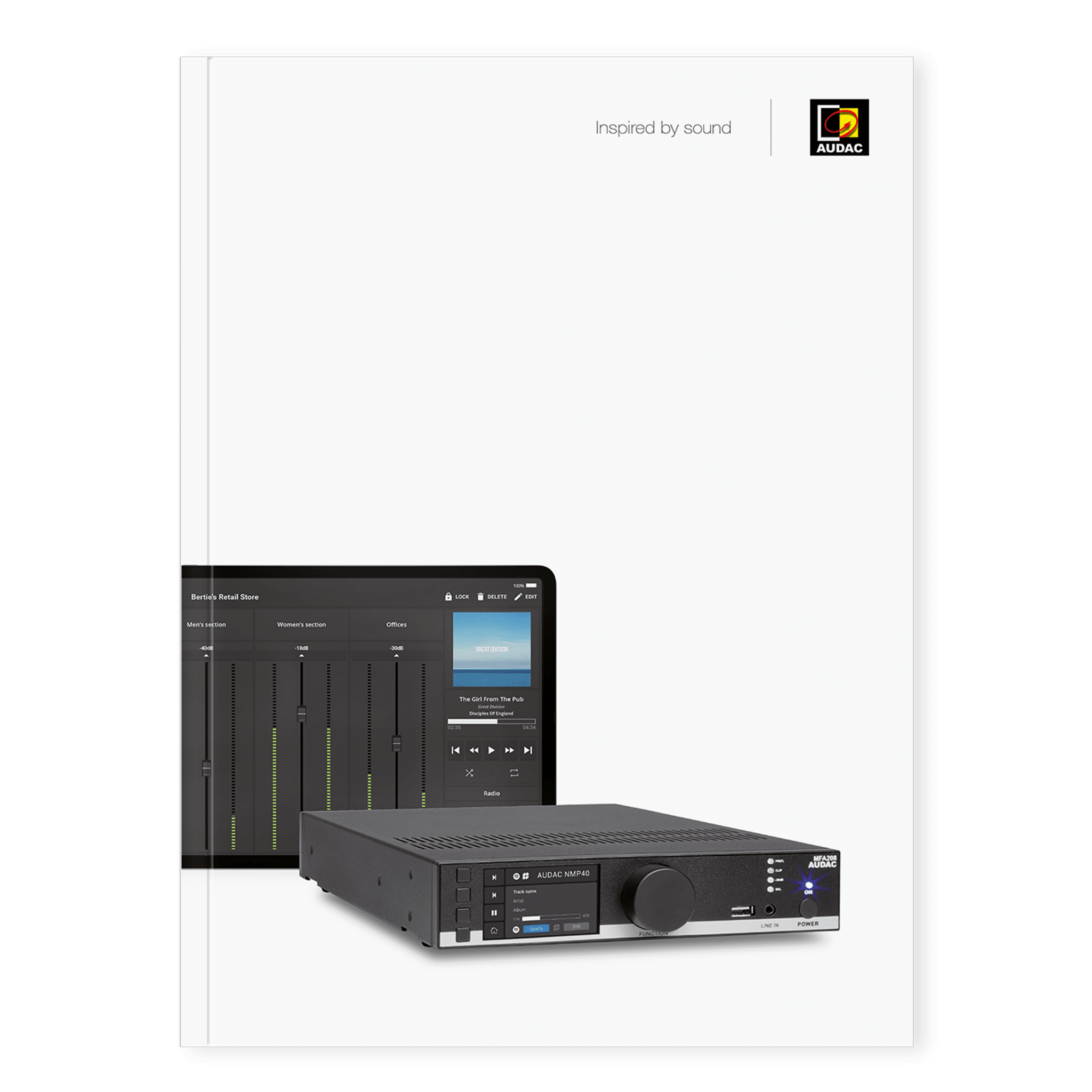 PROMO5215-ENG - AUDAC Catalogue V1.5