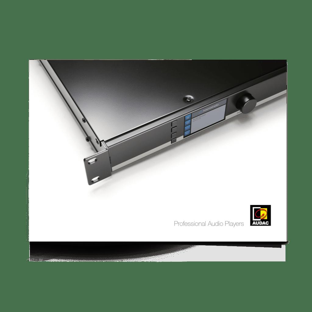 PROMO5216 - Professional Audio Players catalogue V3.0