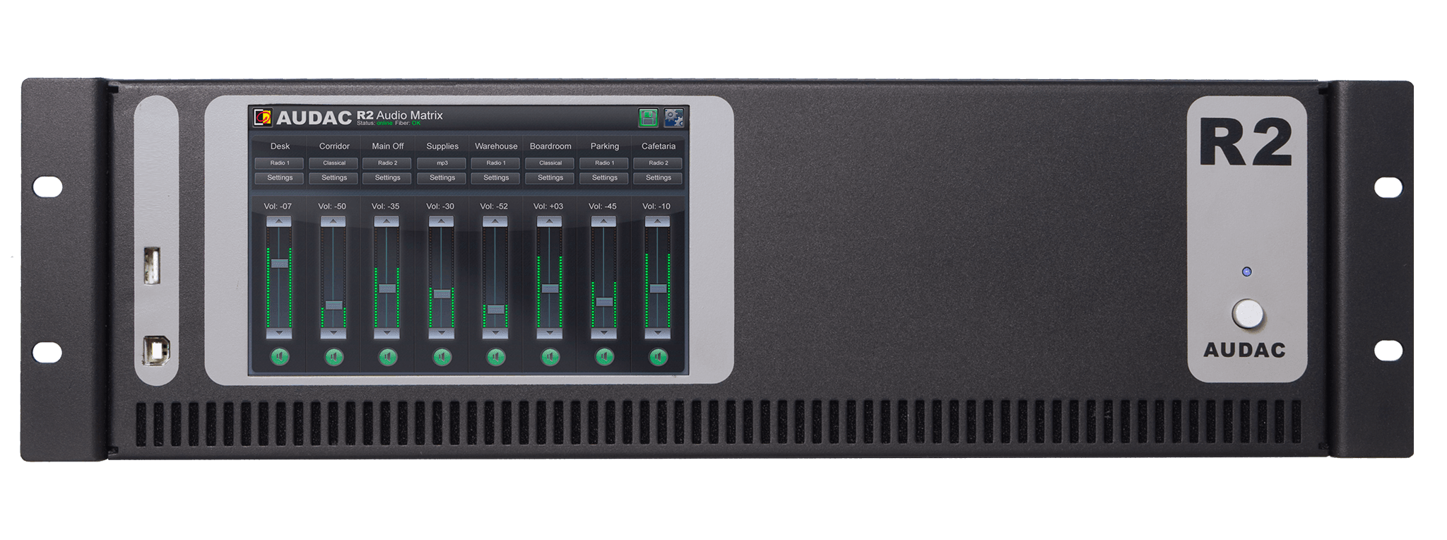 R2 - Multi-zone digital audio matrix