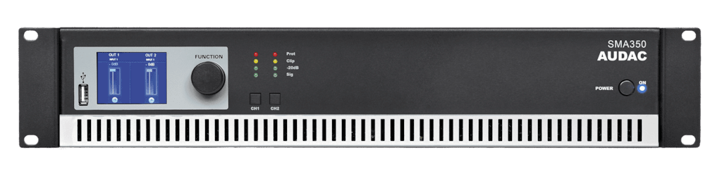 SMA350 - WaveDynamics™ dual-channel power amplifier 2 x 350W