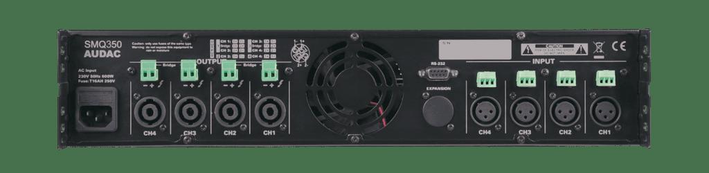 SMQ350 - WaveDynamics™ quad-channel power amplifier 4 x 350W