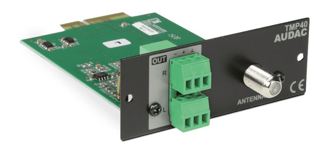TMP40 - SourceCon™ FM tuner module