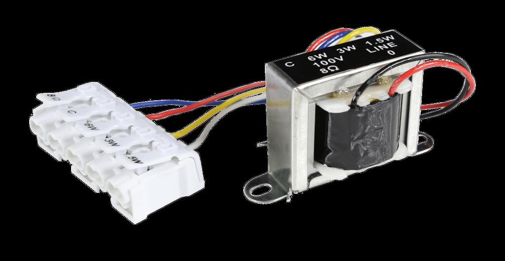 TR1006F - Audio line transformer 6W 100V