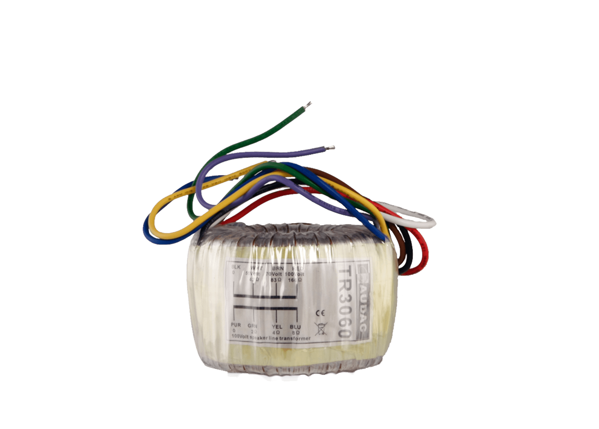 TR3060 - Toroidal audio line transformer 60W 100V