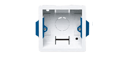 WB3102/FG - Wall mounting box Flush mount - hollow wall