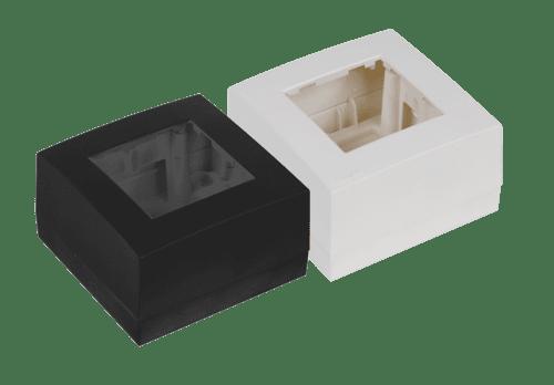 WB45S - Surface mount box single 45 x 45 mm