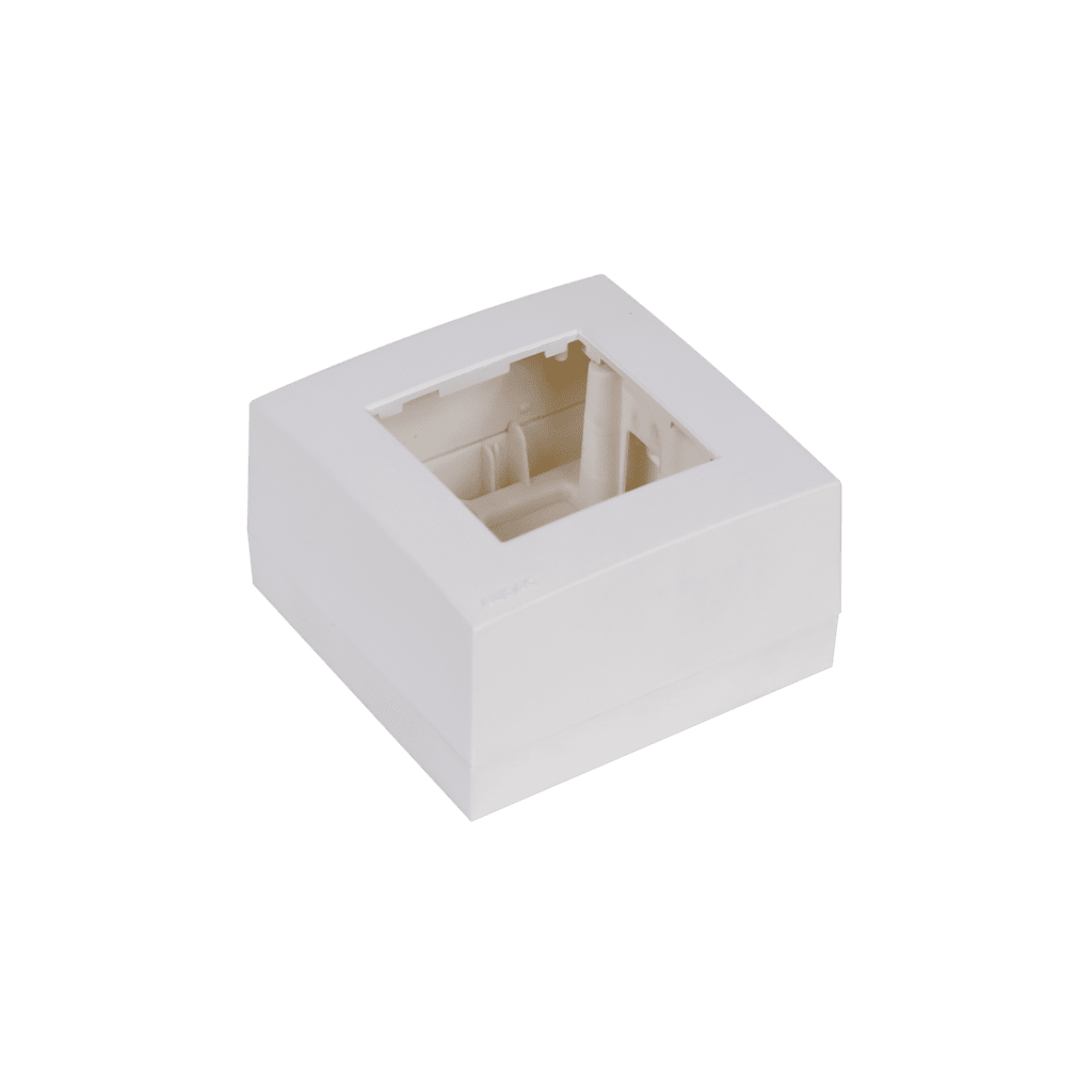 WB45S - Surface mount box single 45 x 45 mm
