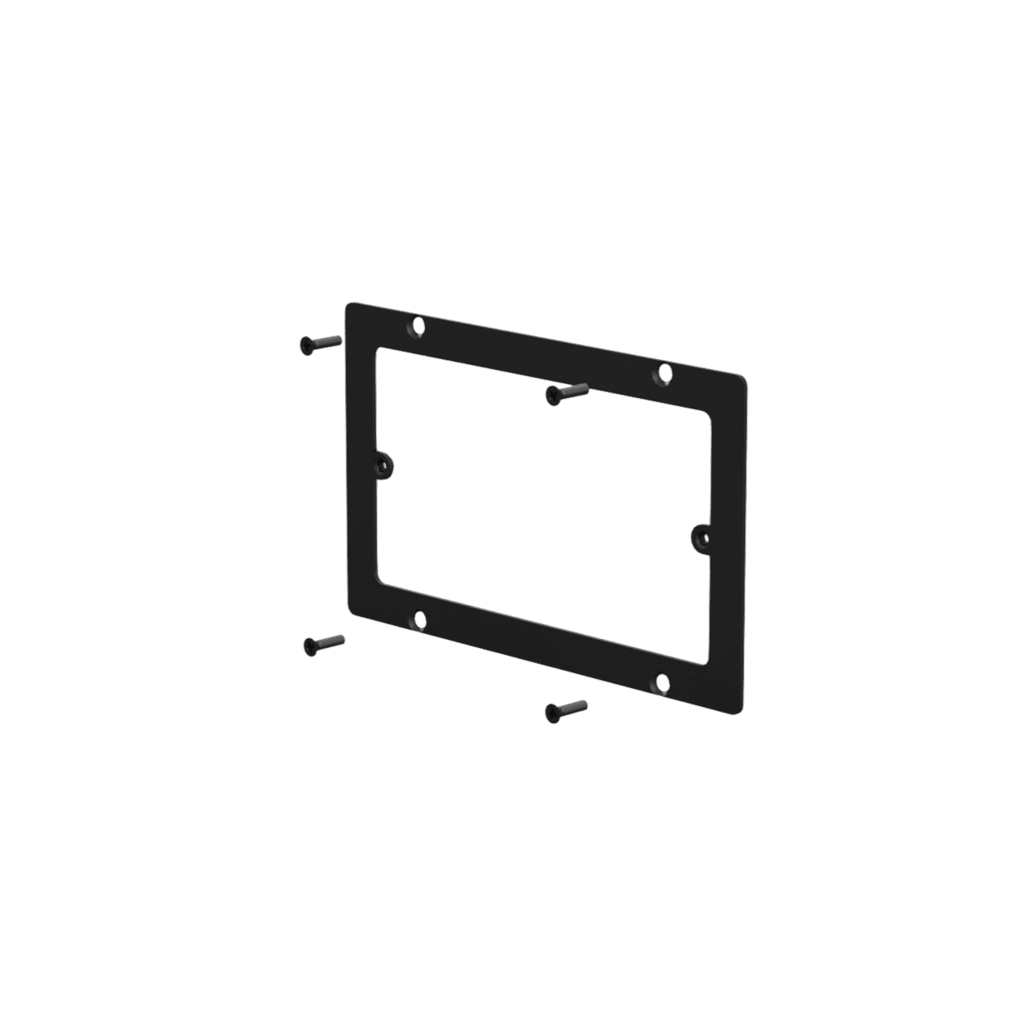 WB50/AF - Adapter frame for WB50 to 3-gang US standard