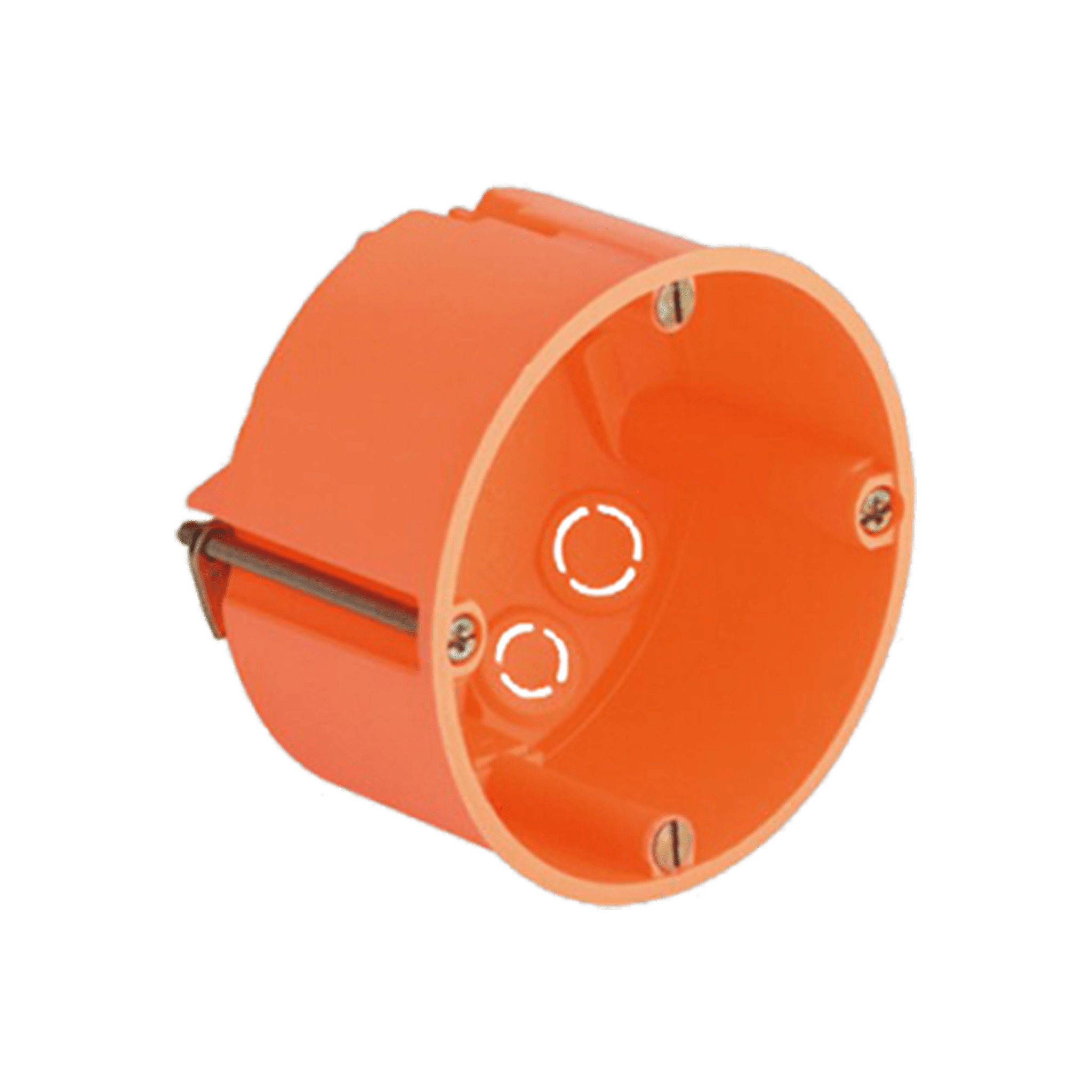 WB45S/FG - Flush mount box for 45 x 45 mm wall panel - Hollow wall