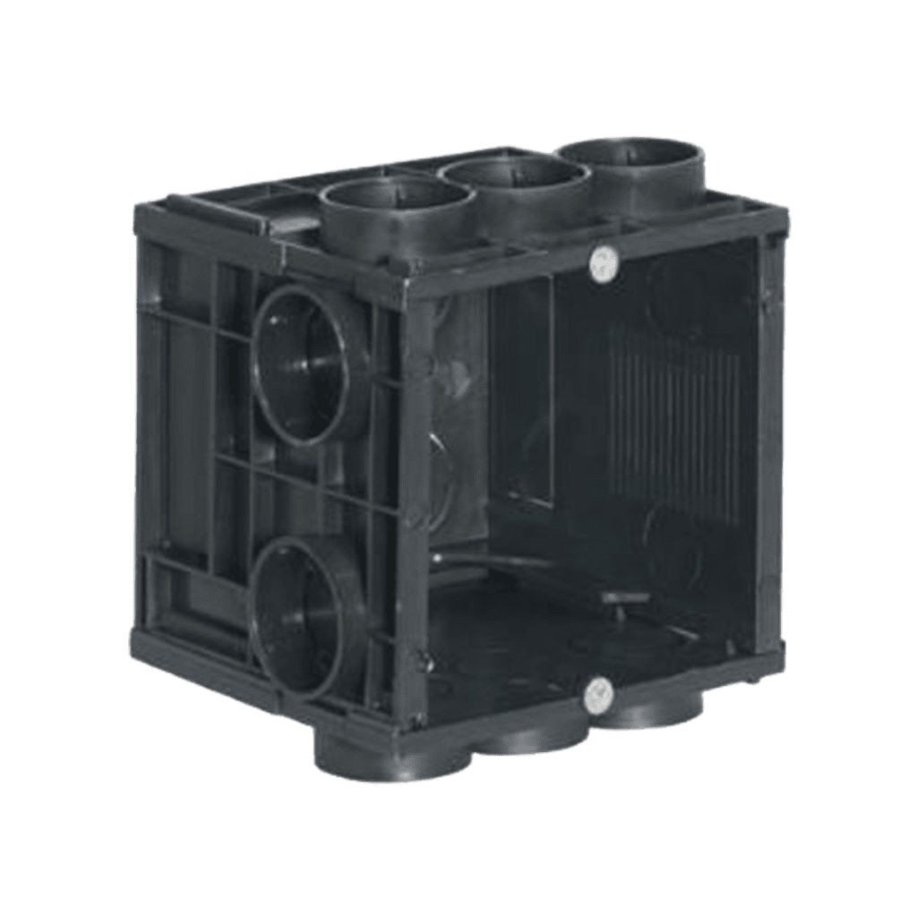WB45S/FS - Flush mount box for stone or concrete walls