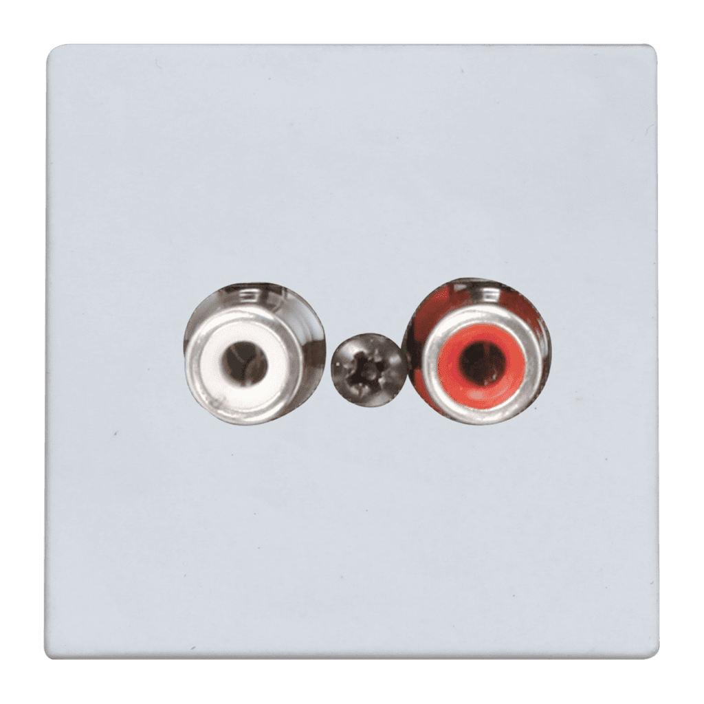 WLI18 - Wall line input - 45x45mm - terminal block