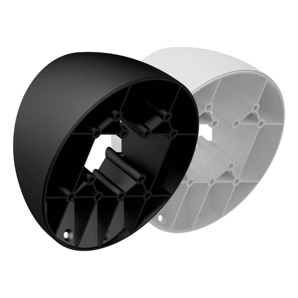WMA60 - Extension mount with 30° incline angle for ATEO6