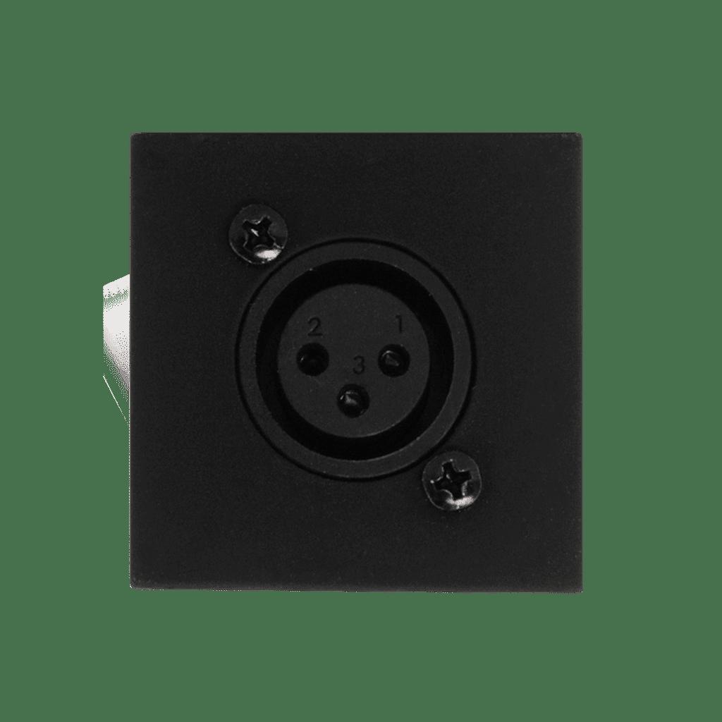 WMI16 - Wall mic input - 45x45mm - rj45