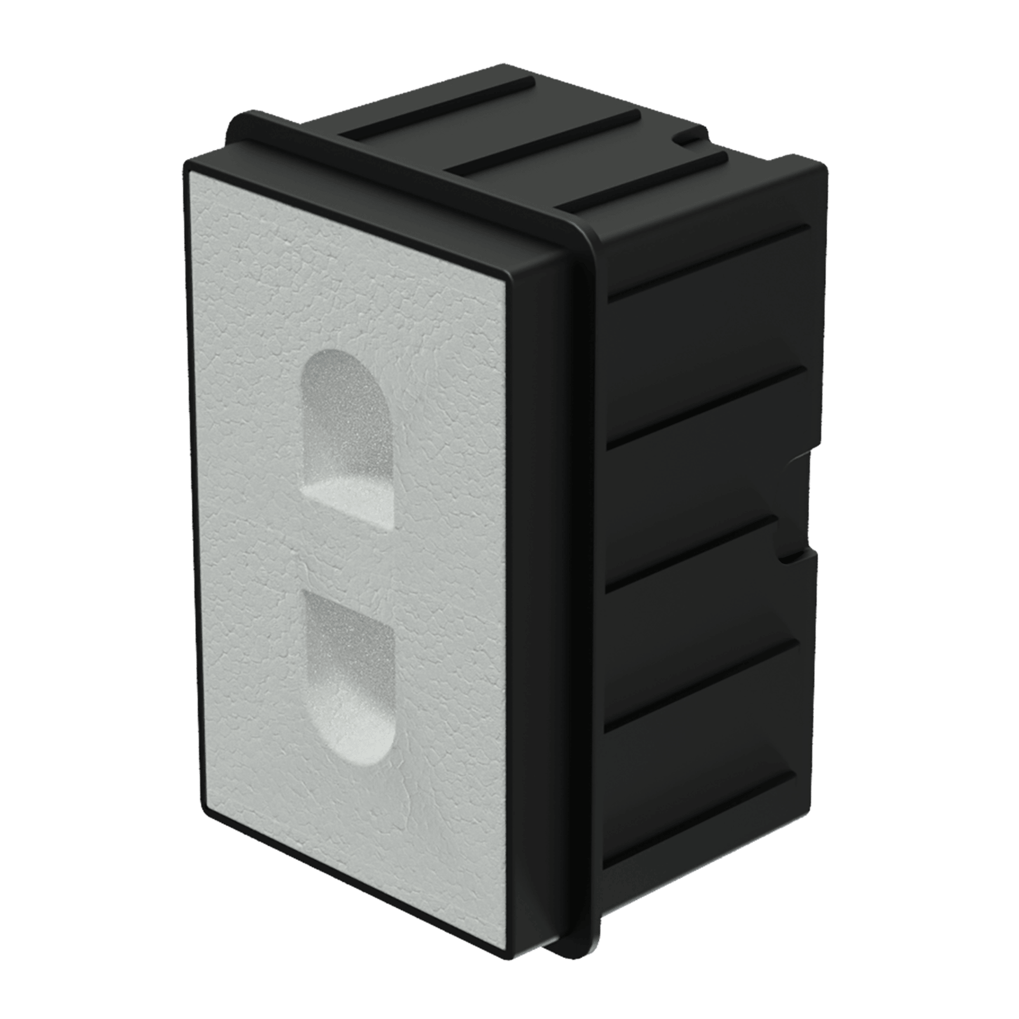 WMM20 - In-wall box for MERO2 for concrete/brick wall
