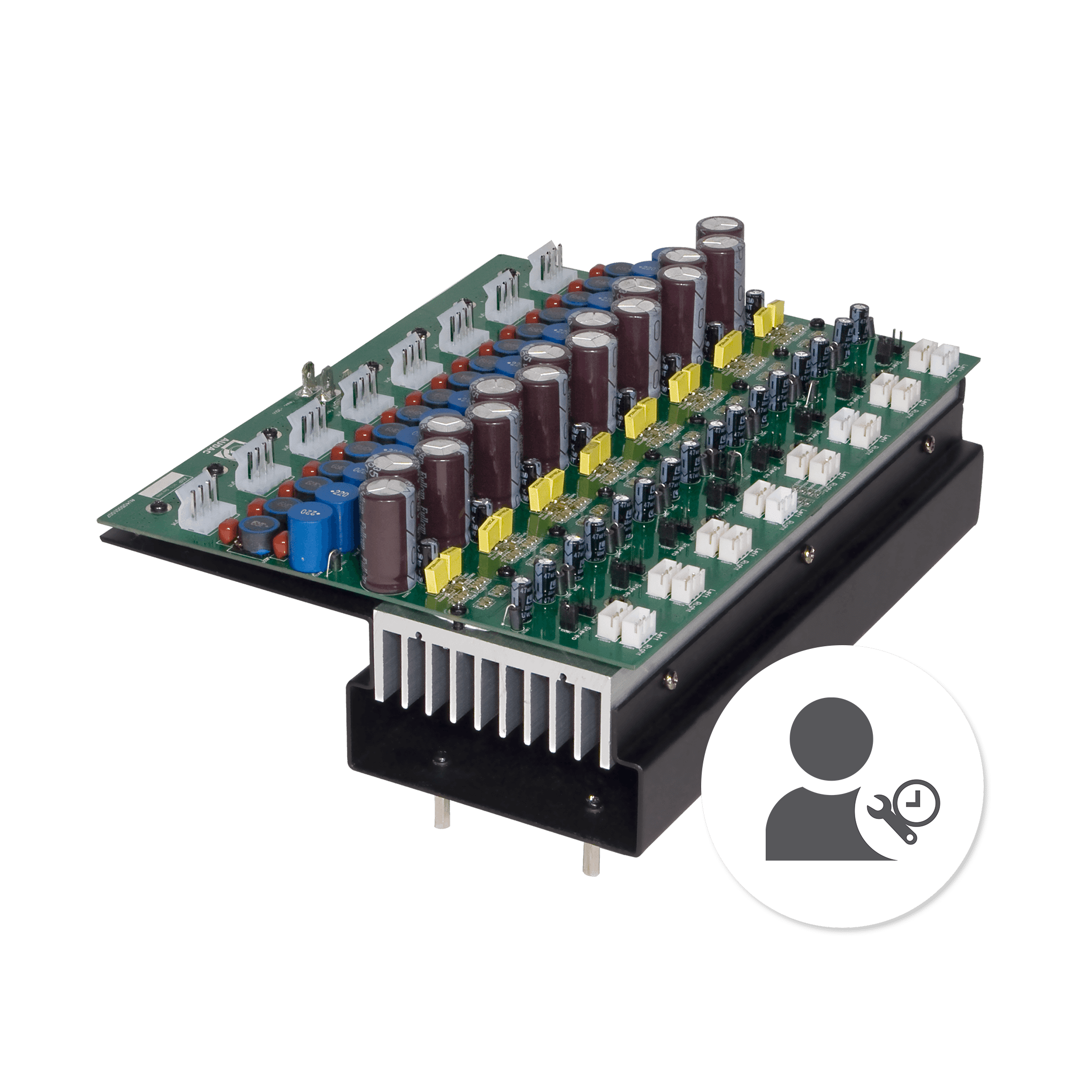WORKPOW2 - Installation of POW2 amplifier module in an M2 or R2 matrix system