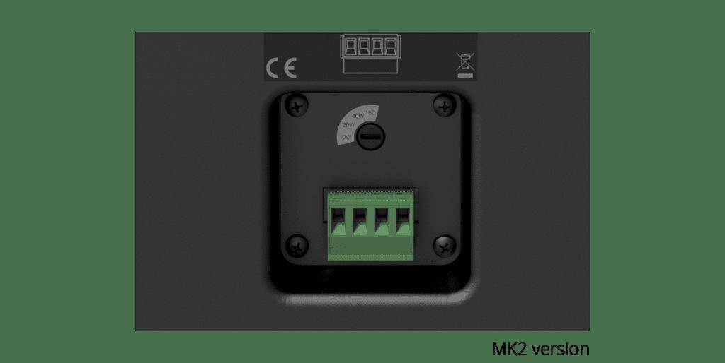 "WX802MK2 - Universal wall speaker 8"""