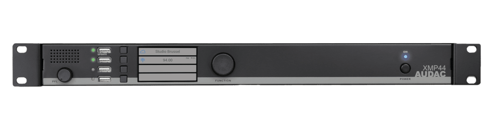 XMP44 - SourceCon™ professional modular audio system