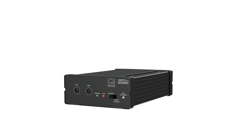 AMP20MK2 - Mini stereo amplifier 2 x 15W