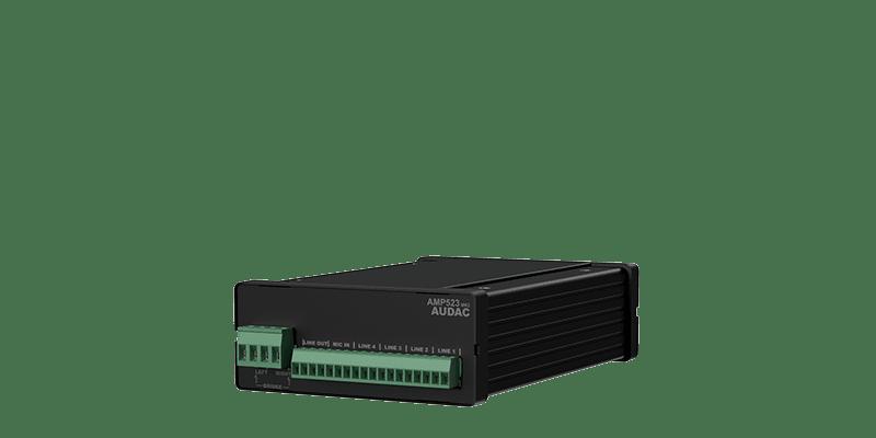 AMP523 - Web-based mini stereo amplifier 2 x 15W
