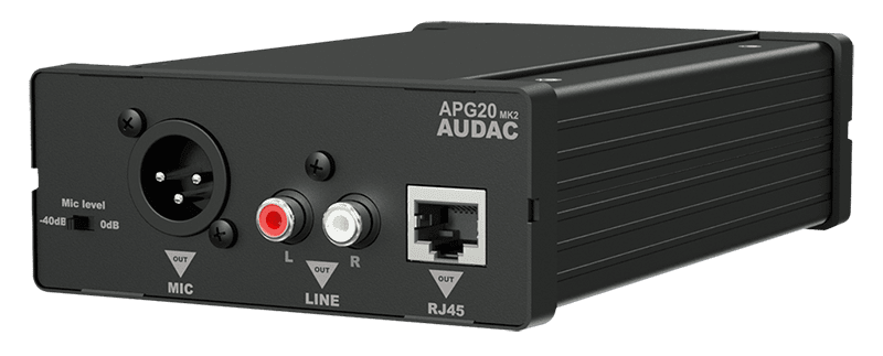 APG20 - Active audio transceivers RCA