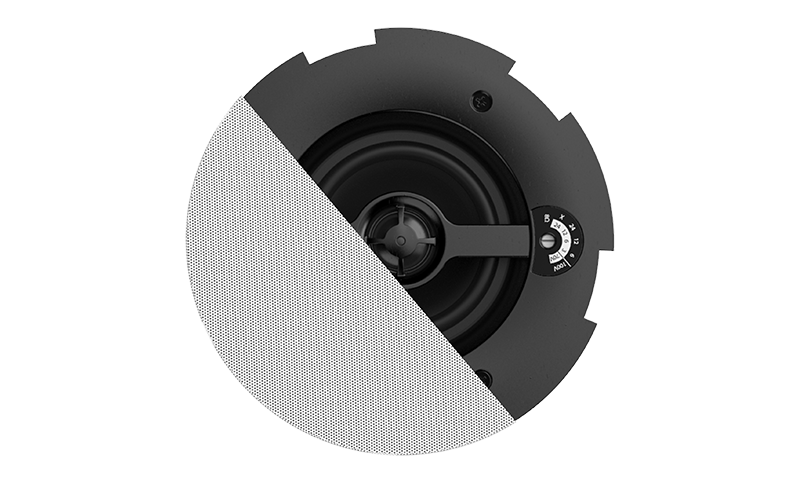 "CALI424 - Safelatch™ 2-way 4"" ceiling speaker with Twist-Fix™ grill"