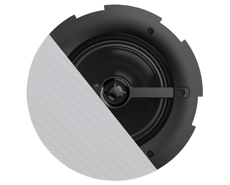 "CALI660 - Safelatch™ 2-way 6.5"" ceiling speaker with Twist-Fix™ grill"