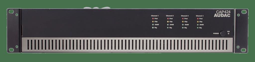 CAP424 - Quad-channel power amplifier 4 x 240W 100V