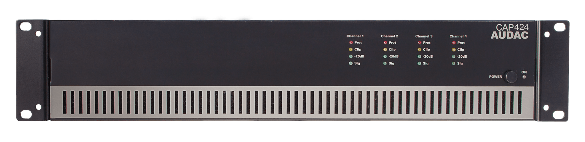 CAP424 - Quad-channel power amplifier 4 x 240W 100V
