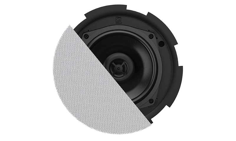 """CIRA506 - Quick-fit™ 2-way 5 1/4"""" ceiling speaker with Twist-Fix™ grill"""