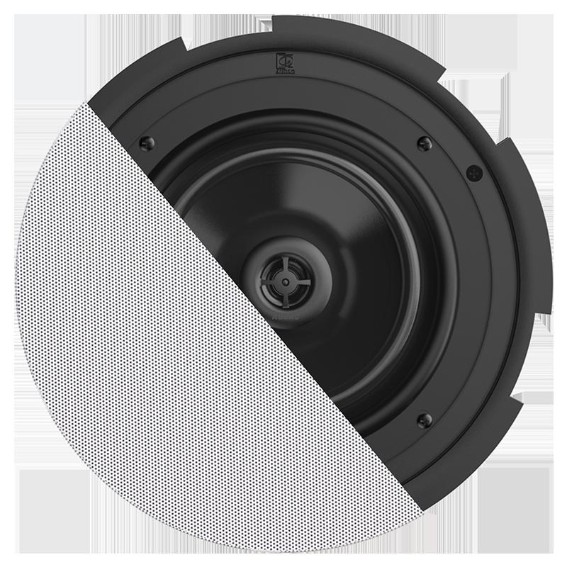 "CIRA8 - QuickFit™ 2-way 8"" ceiling speaker with TwistFix™ grill"