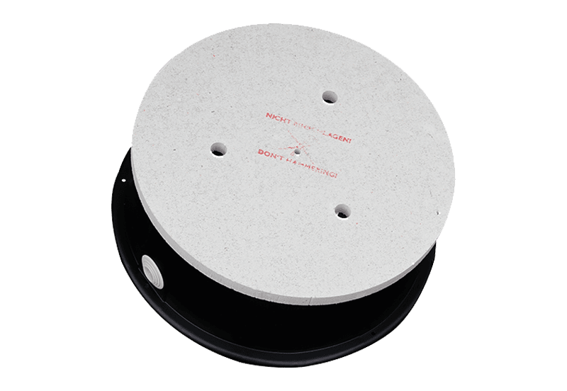 CMM306 - Speaker built-in box for concrete casting with mineral fibreboard