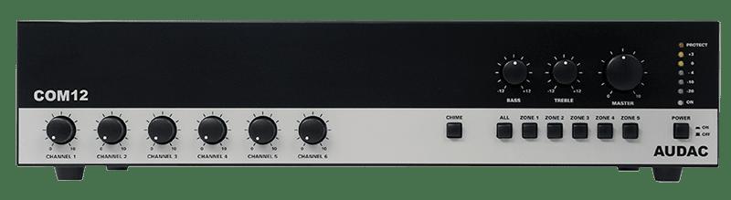 COM12 - Public address amplifier 120W 100V