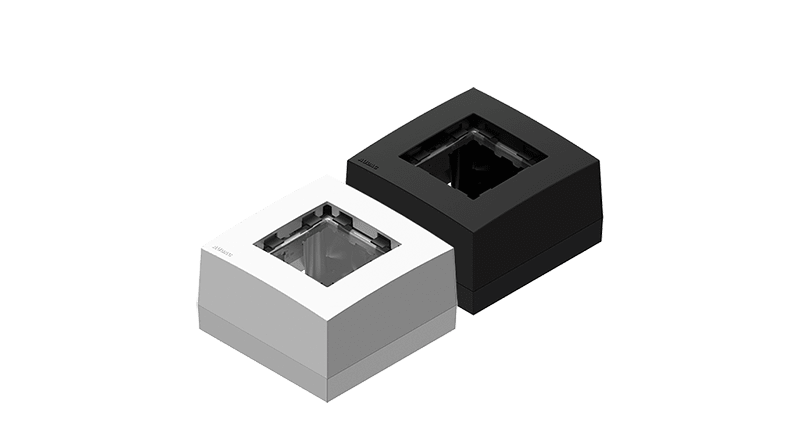 CP45BOX1 - Surface mount box for 45x45 standard range