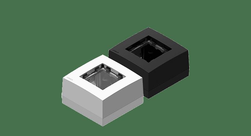 CP45BOX1 - Surface mount box for 45x45 standard range