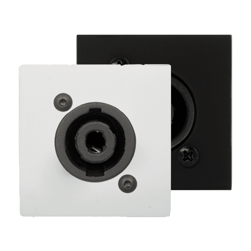 CP45SPE - Connection plate D-size speaker 45 x 45 mm