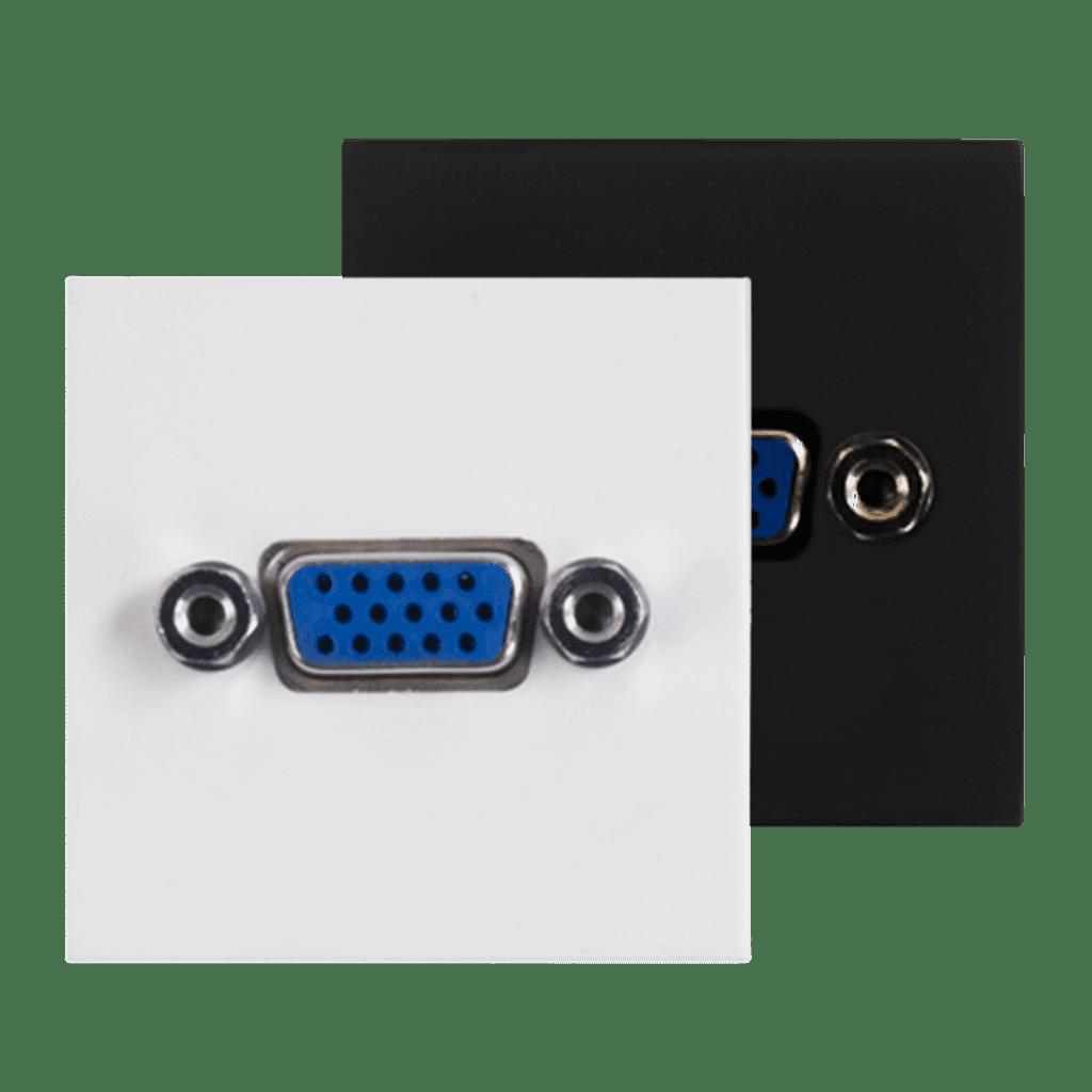 CP45VGA - Connection plate VGA 45 x 45 mm