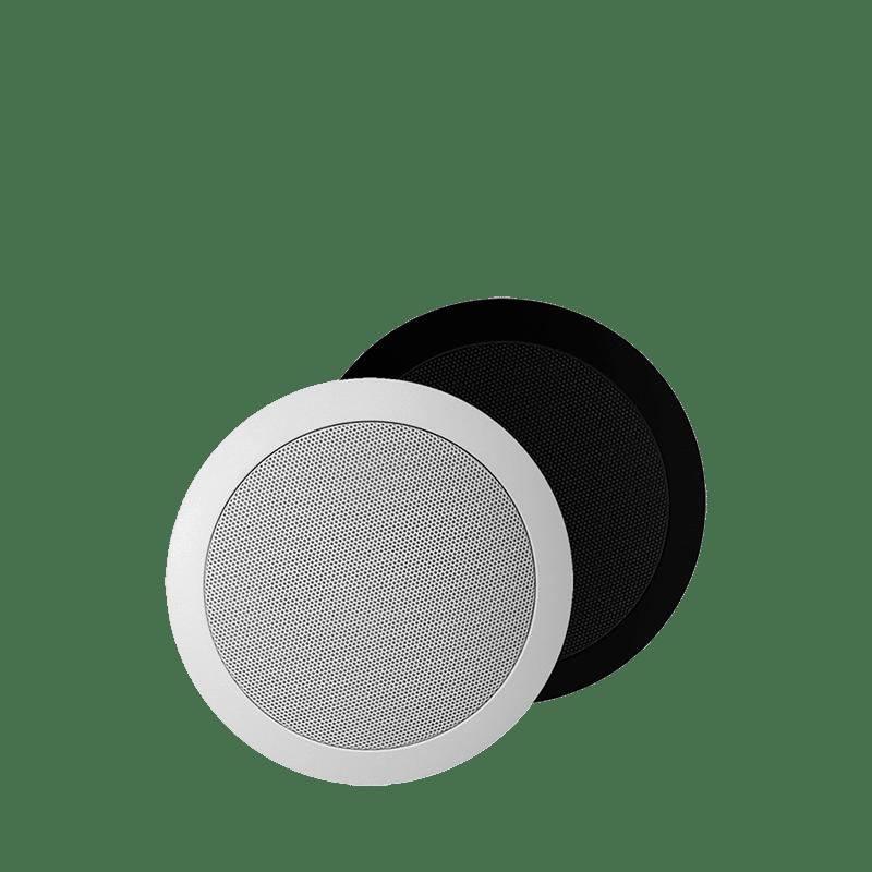 "CS74 - Quick fit 2-way 5 1/4"" ceiling speaker 8 Ohm/100V"
