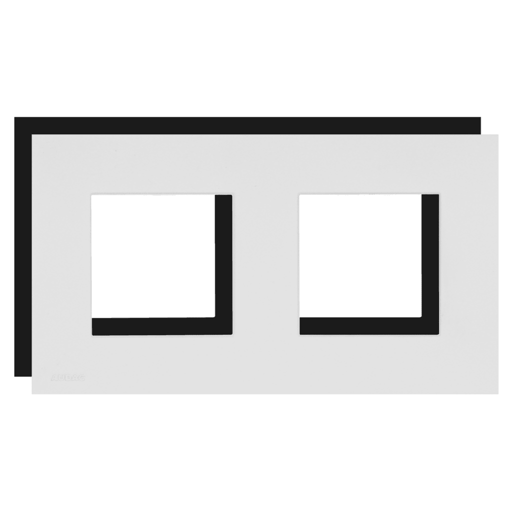CF45D - Cover frame double 45 x 45 mm