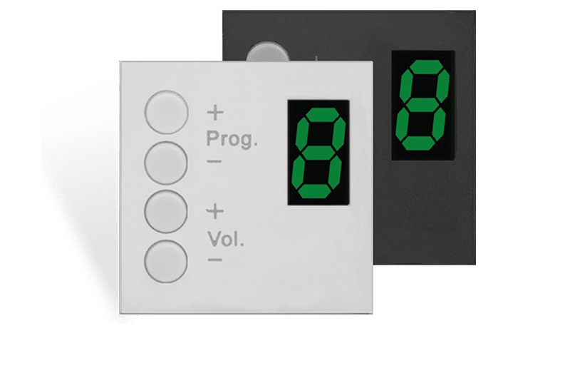DW3020 - Wall panel controller 45 x 45 mm